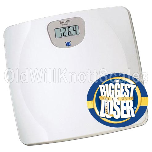 Taylor Bathroom Scales >> The Taylor 7023BL Biggest Loser Digital Bathroom Scale
