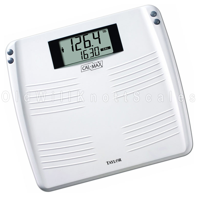 The Taylor 7206 Cal Max Digital Bathroom Scale