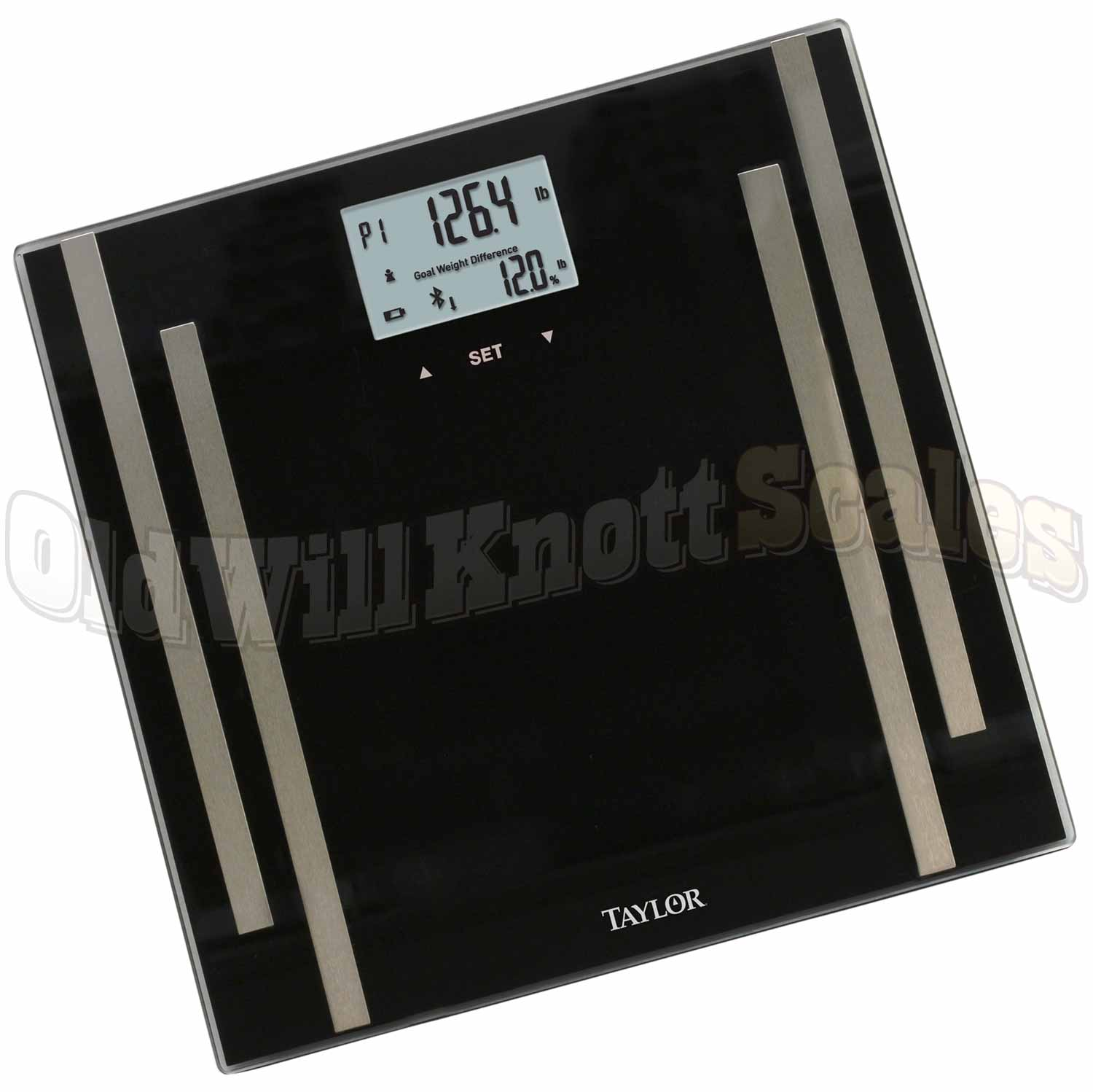 Taylor 7222f Smart Scale With Bluetooth Connectivity
