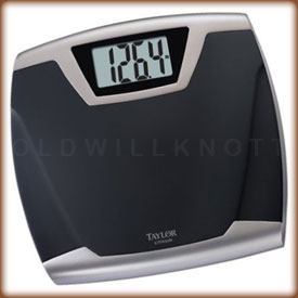 Taylor 7340B Lithium Electronic Bathroom Scale
