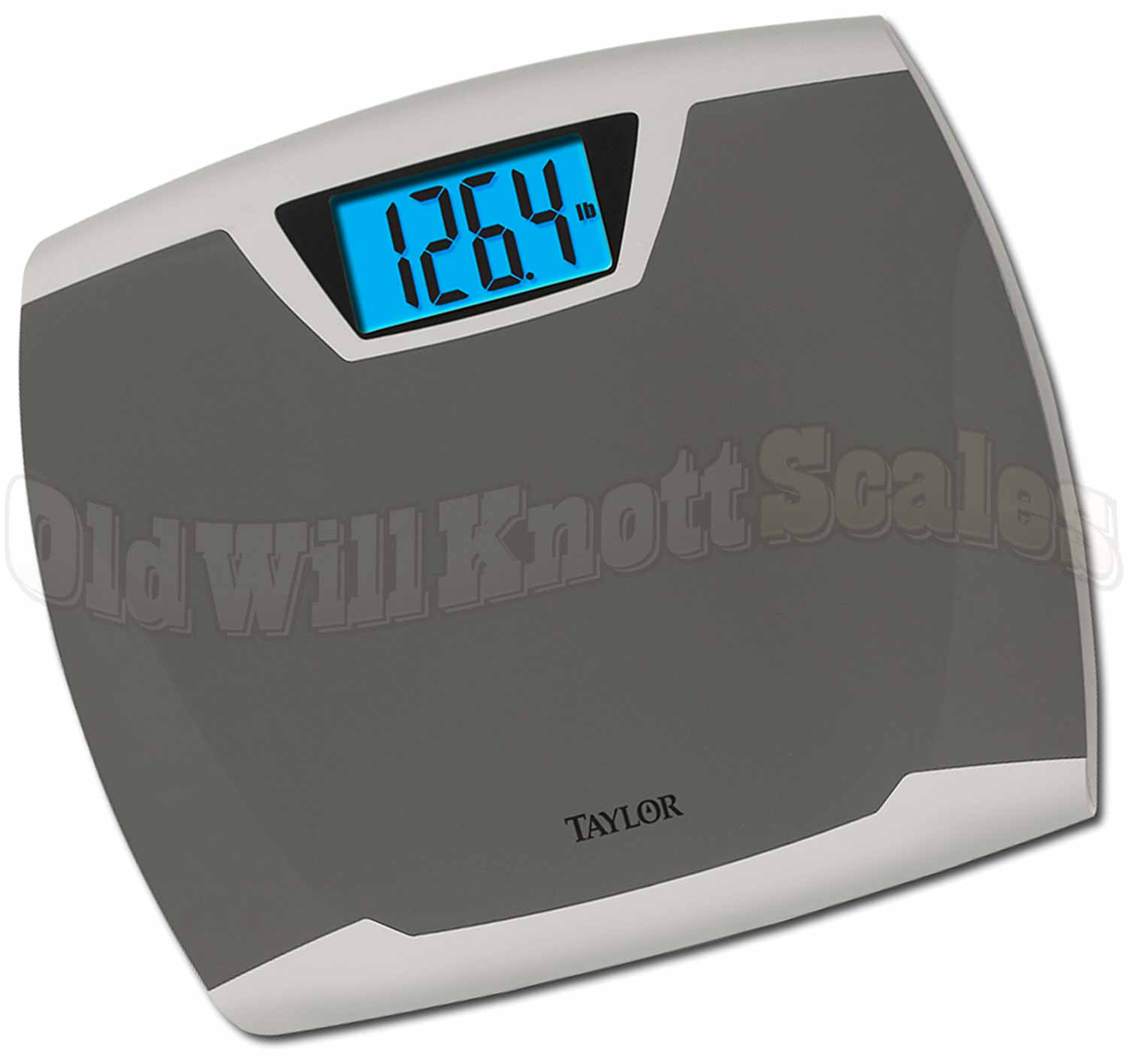 Taylor 7370 High Capacity Antimicrobial Bathroom Scale With Large Lcd