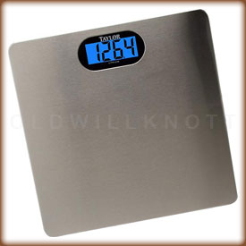 The Taylor 7404 digital bathroom scale