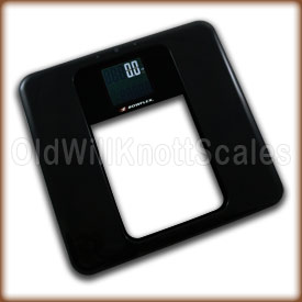 The Bowflex digital bathroom scale.