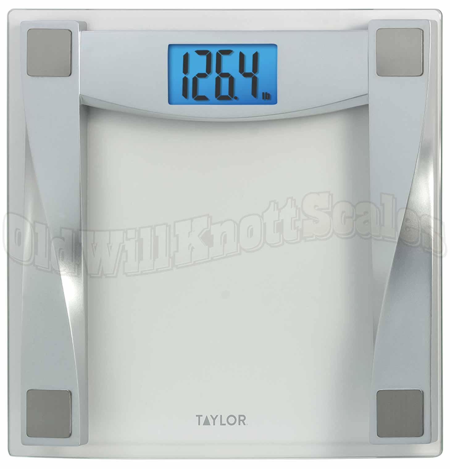 bathroom scale bath taylor depot glass the scales silvertone digital p home