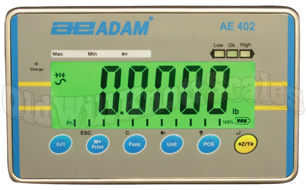 The Adam Equipment AE402 Weight Indicator