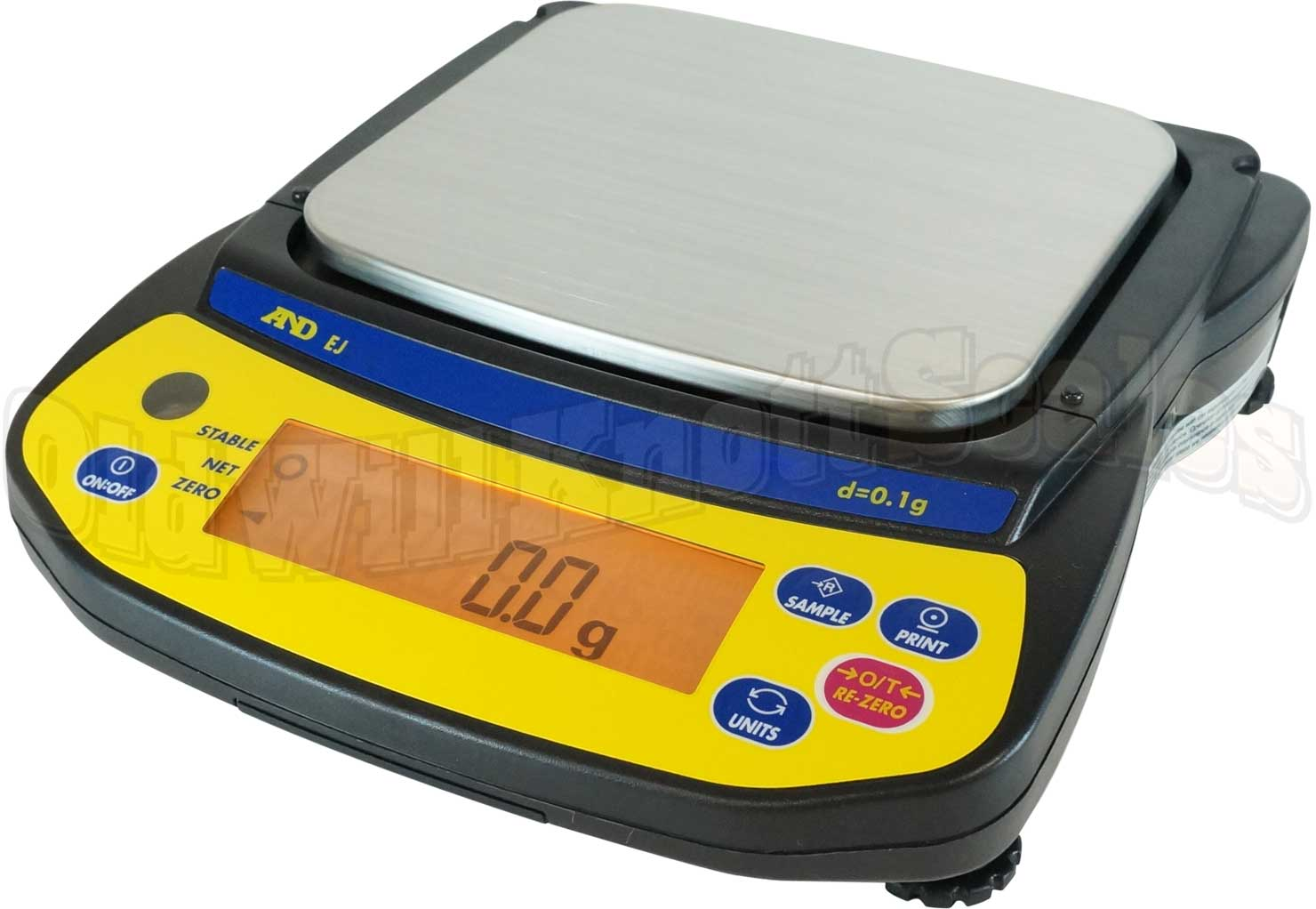 A Amp D Scales Ej 2000 Newton Series Portable Balance