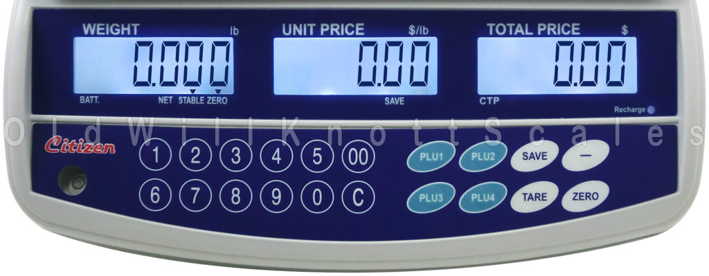 Citizen - CTP-15 - Display