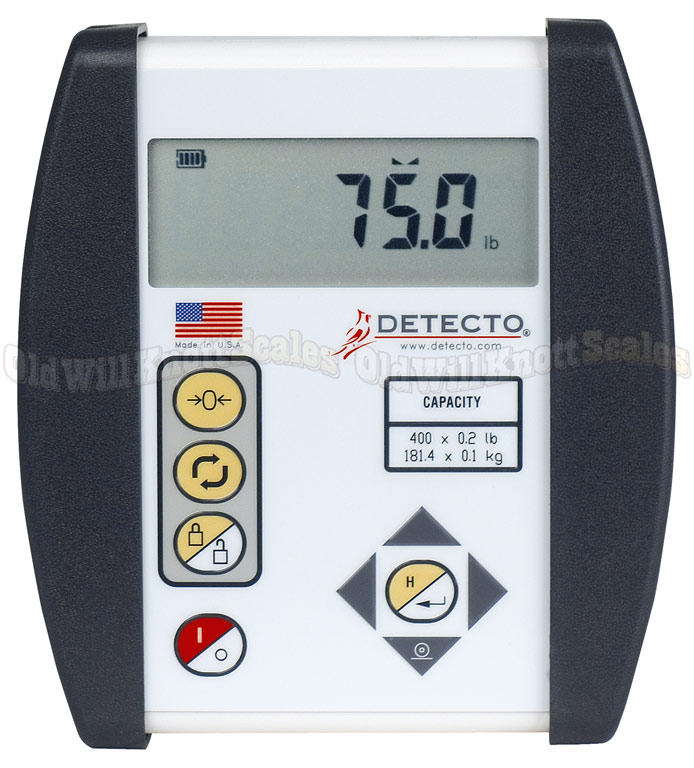 Detecto - 6127 - Close Up of Indicator