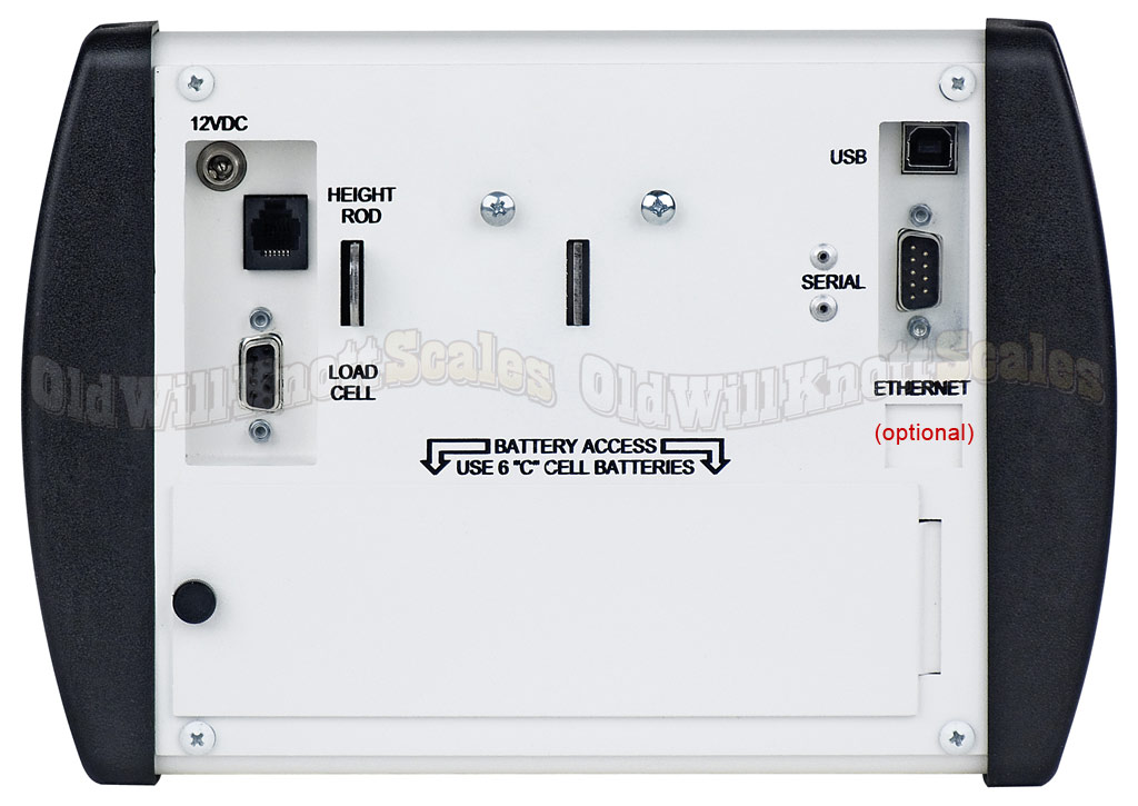 Detecto - 8430S - Digital Indicator Rear
