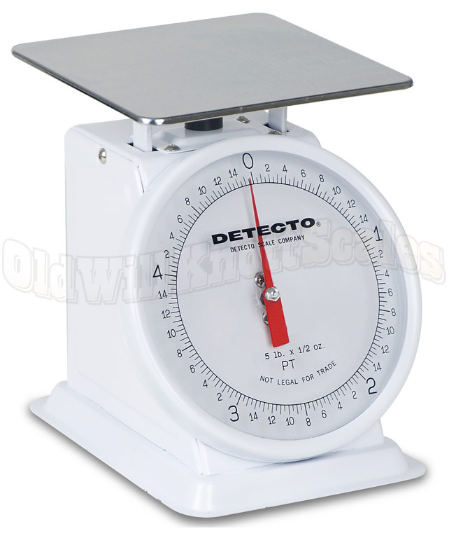 Detecto PT-5 - Enamel Body & Fixed Dial