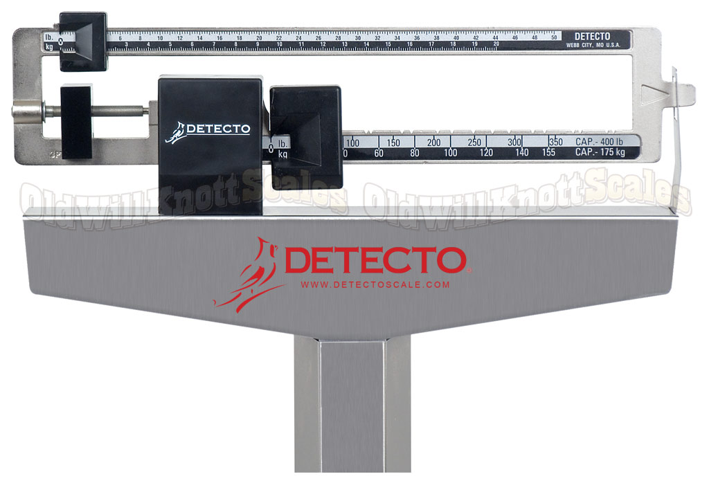 Detecto - 339S - Stainless Steel Weighing Beams