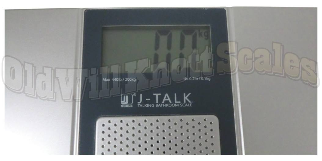 The Jennings J-Talk 440 - Closer Look At The Extra Large Weight Display