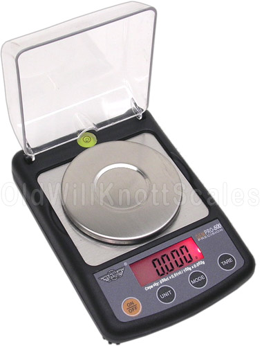 My Weigh - GemPro 500 - With the Cover Open