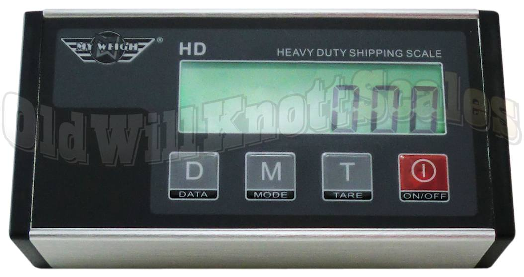 My Weigh - HD 300 - Close Up Of Display Panel