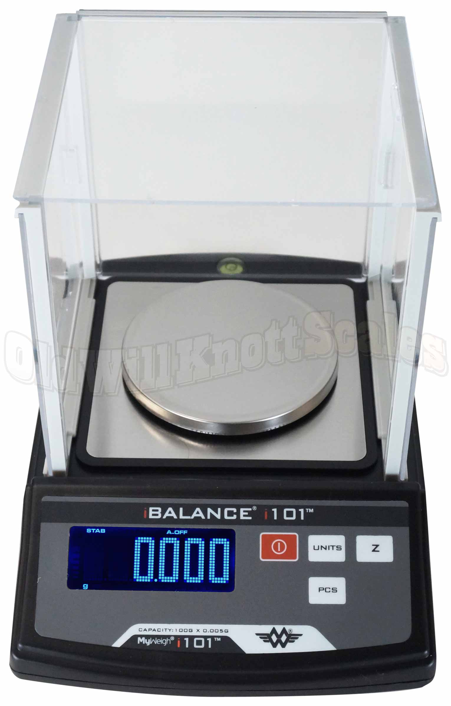 My Weigh - iBalance i101 - Top View