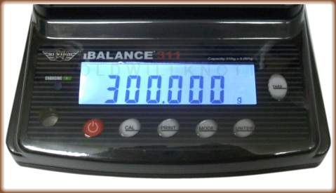 My Weigh - iBalance i311 - Display Closeup