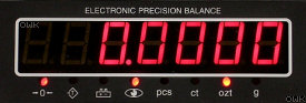 My Weigh - iBalance iM01 - Back Display Panel