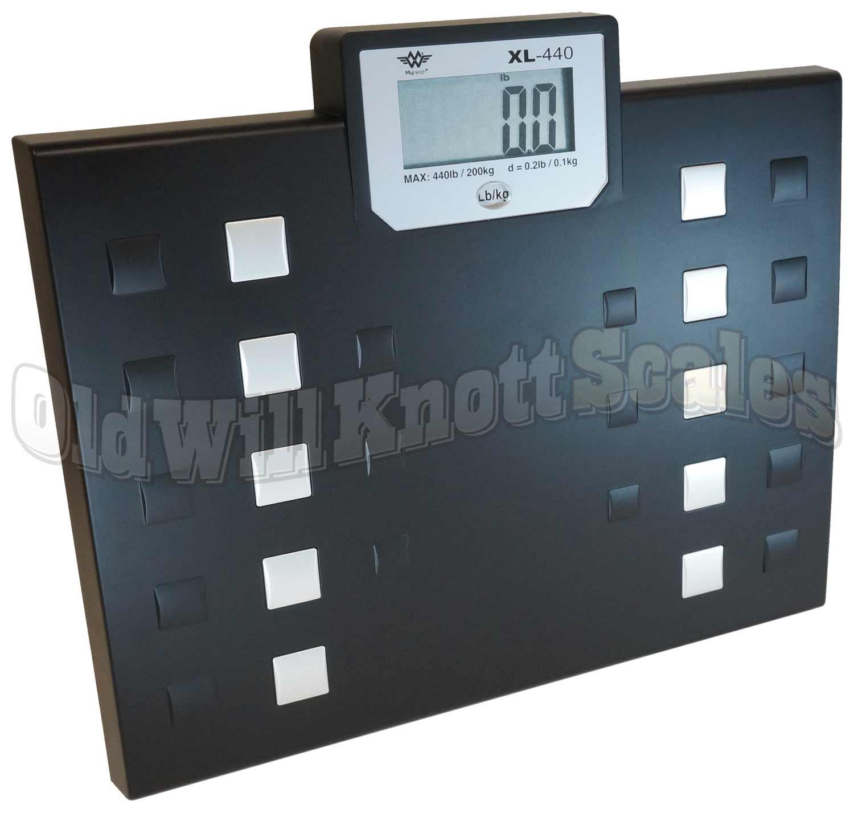 My Weigh Xl 440 High Capacity Talking Bathroom Scale