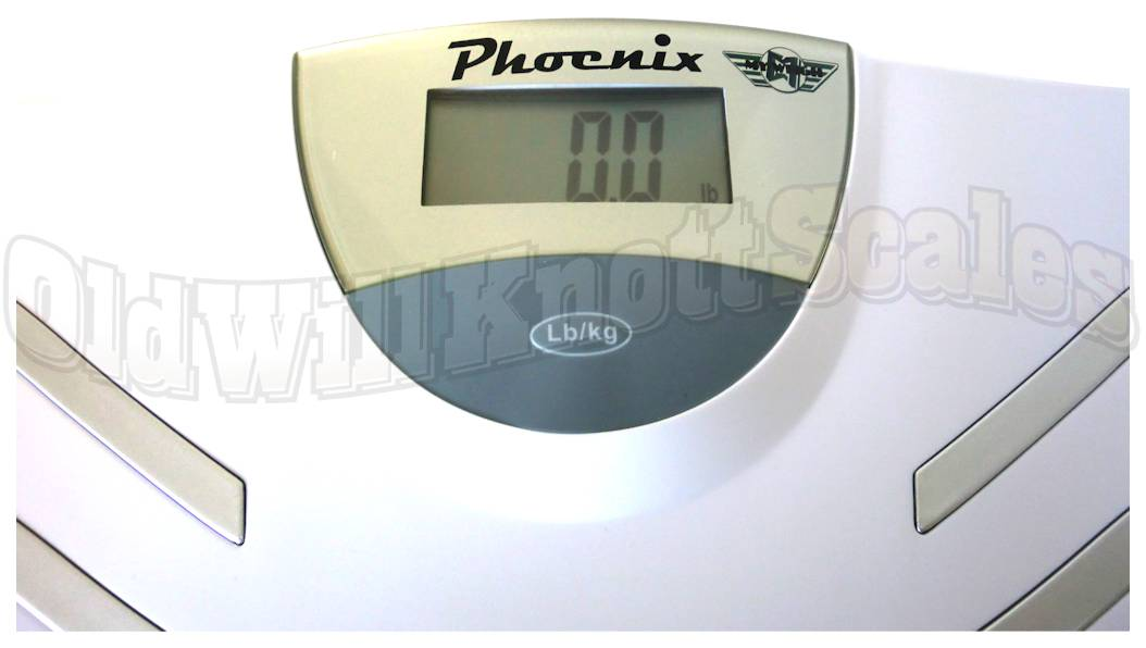 My Weigh - Phoenix Talking Scale - Close Up Of Display Panel