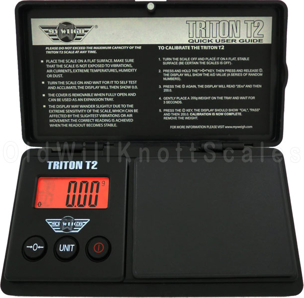 My Weigh - Triton T2 200 - Front View