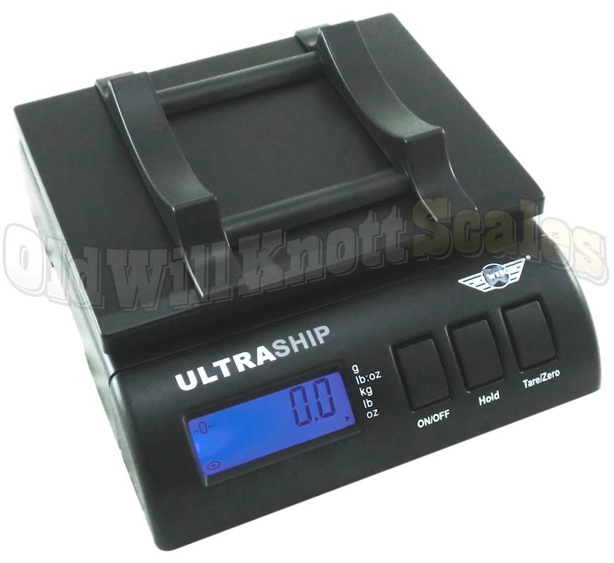 My Weigh - Ultraship 55 - Showing Tube Holding Attachment In Use