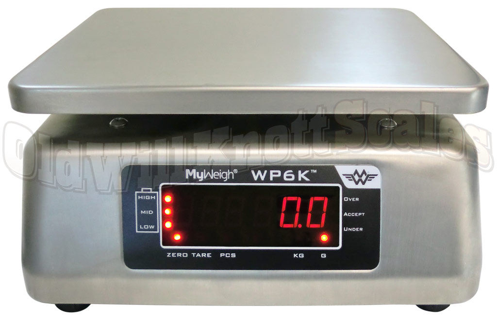 My Weigh - WP6K - Rear