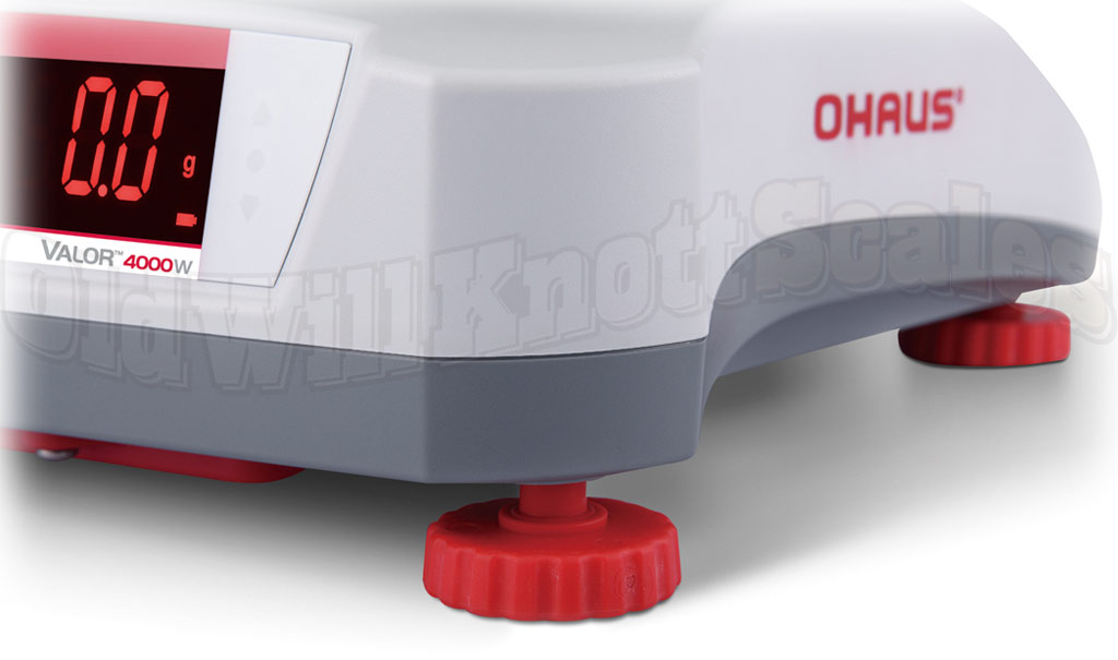 Ohaus - Valor Valor 4000W V41PWE1501T - Adjustable Feet