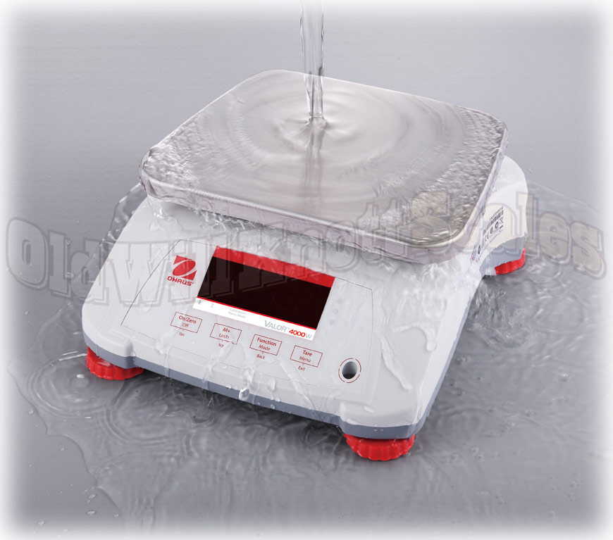 Ohaus - Valor Valor 4000W V41PWE1501T - Waterproof Demonstration