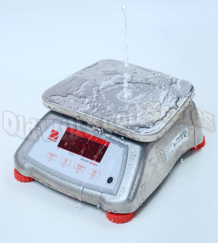 Ohaus - Valor Valor 4000W V41XWE3T - Waterproof Demonstration