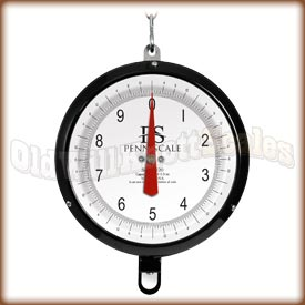 Penn Scale 820VGD - Glass Covered Double Dial and Vegetable Scoop