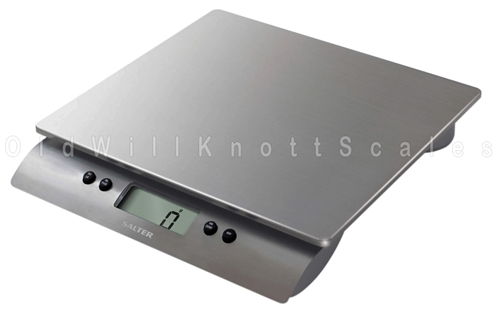 The Salter 3013 High Capacity Stainless Steel Kitchen Scale