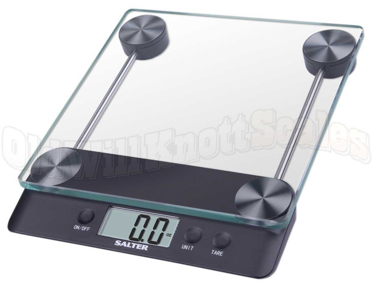 The Salter 3830 High Capacity Digital Kitchen Scale With