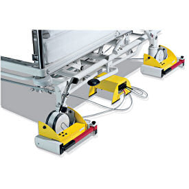 The Seca 984 - View Of Two Of The Four Bed Lifting Load Cells