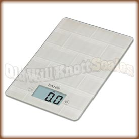 Taylor - 3812 TL - Digital Kitchen Scale with Tile Design