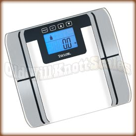 Taylor - 5761 - Glass Body Fat Scale with Stainless Steel Sensors