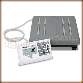 The Detecto ProDoc PD150 low profile medical scale.