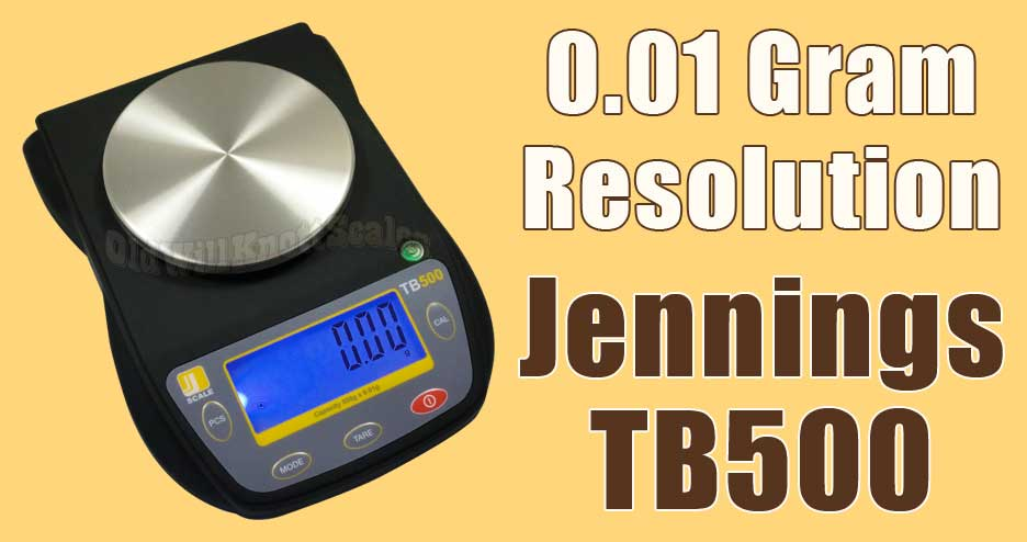 Go See The Jennings TB500 Centigram Scale