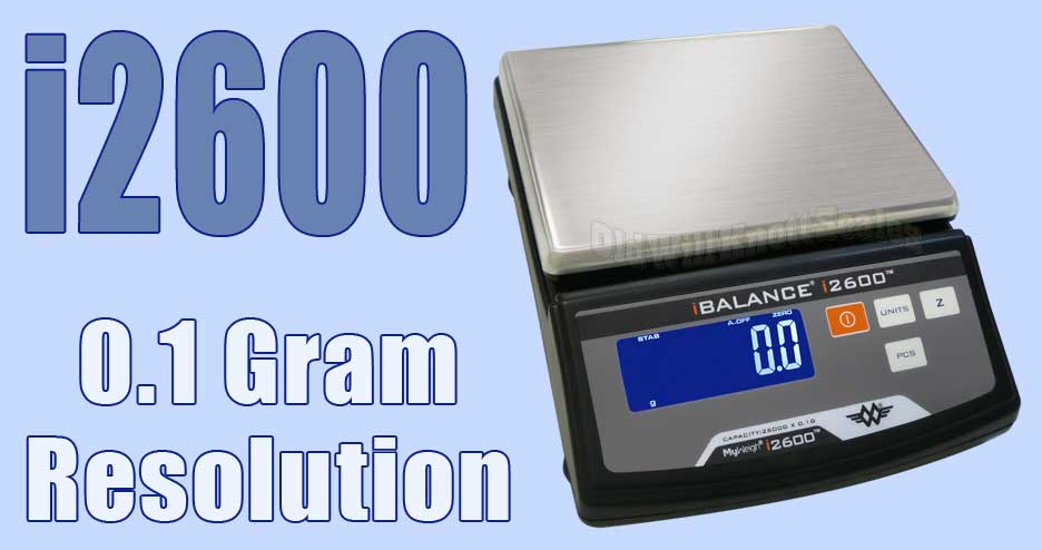 Go See The My Weigh iBalance 2600 Decigram Scale