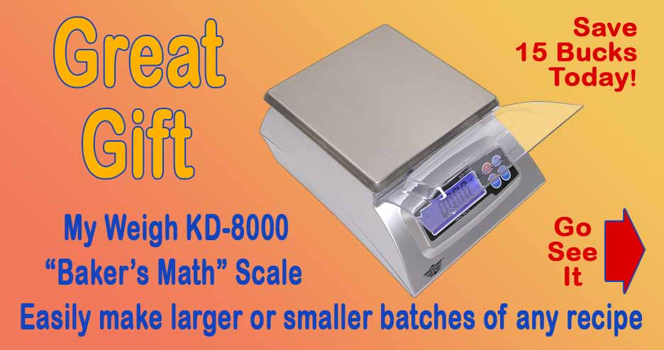 My Weigh KD8000 Baker's Math Scale, On Sale Now