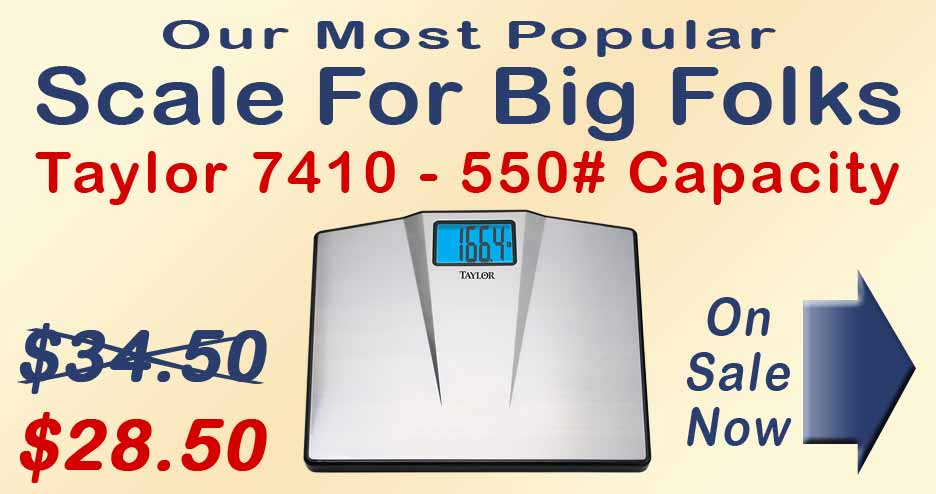 Taylor 7410 Bariatric Scale - On Sale for $28.50
