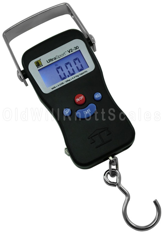 the jennings ultrasport v2 30 digital hanging fish scale