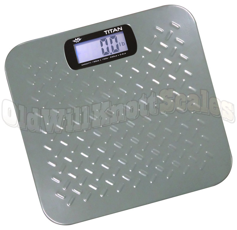 My Weigh Titan Heavy Duty Digital Bathroom Scale With 300 Capacity