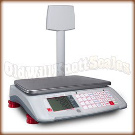 Ohaus - Aviator 7000 A71P15DTNUS - Price Computing Scale with Tower