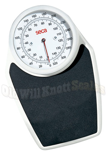 Beautifully Designed, Mechanical Bathroom Scale From Seca 320 Pound  Capacity X 1 Pound Resolution