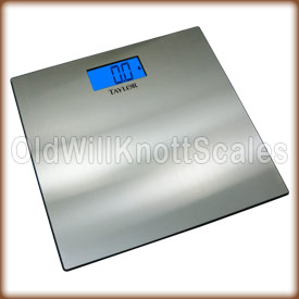 Taylor 7407 Stainless Steel Digital Bathroom Scale
