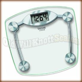 Taylor 7506 Glass Platform Bathroom Scale