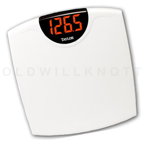 The Taylor 9856 Digital Bathroom Scale