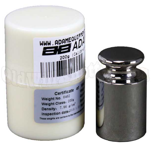 AE 700100012 - 200 gram calibration weight and storage case