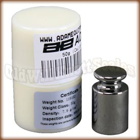 AE 700100014 - 50 gram calibration weight and storage case