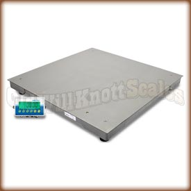 Adam Equipment - PT 110S - Stainless Steel Floor Scale with AE403 Indicator
